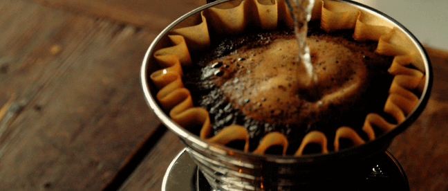 Hand-dripped Coffee